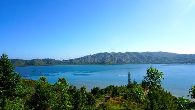 Άποψη του νησιού mande στοκ φωτογραφίες με δικαίωμα ελεύθερης χρήσης