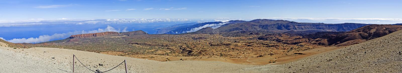 Άποψη του νησιού Tenerife 3.000 χιλιόμετρα μακρύ στοκ φωτογραφία