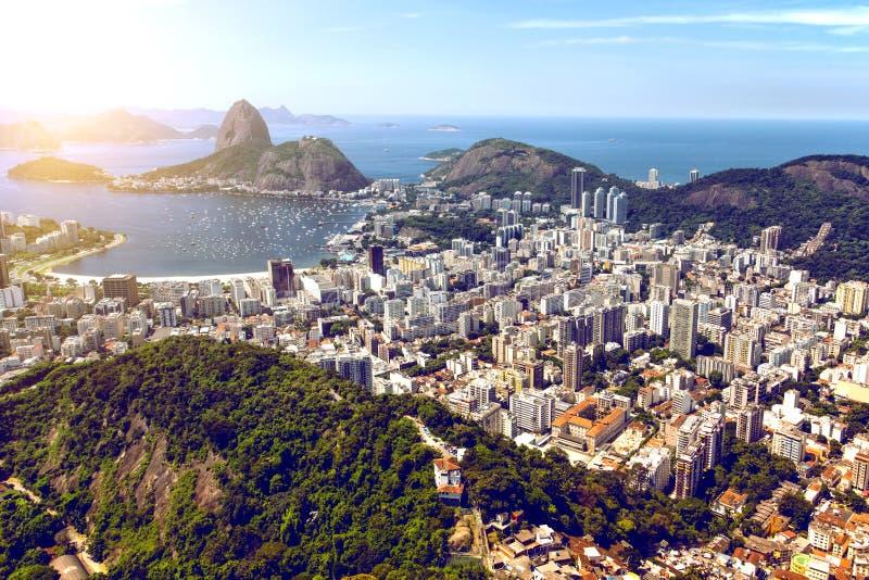 Άποψη του Ρίο ντε Τζανέιρο στοκ εικόνες