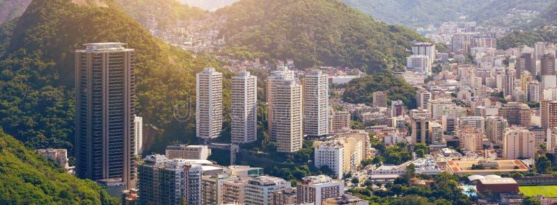 Άποψη του Ρίο ντε Τζανέιρο στοκ φωτογραφίες