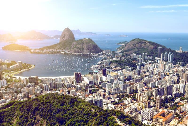 Άποψη του Ρίο ντε Τζανέιρο στοκ εικόνα με δικαίωμα ελεύθερης χρήσης