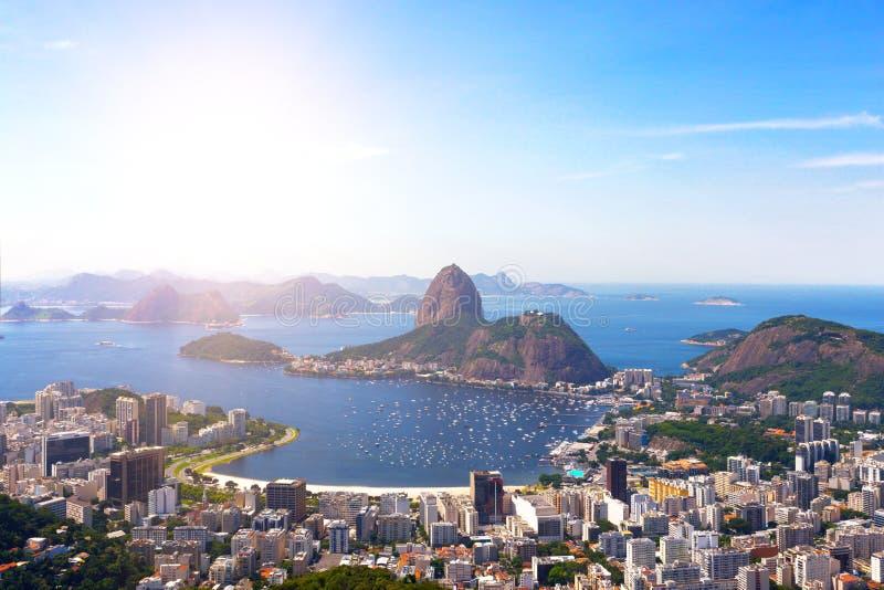 Άποψη του Ρίο ντε Τζανέιρο στοκ εικόνα