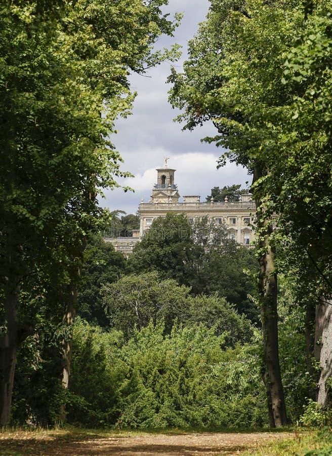 Άποψη του σπιτιού Cliveden στοκ εικόνες με δικαίωμα ελεύθερης χρήσης