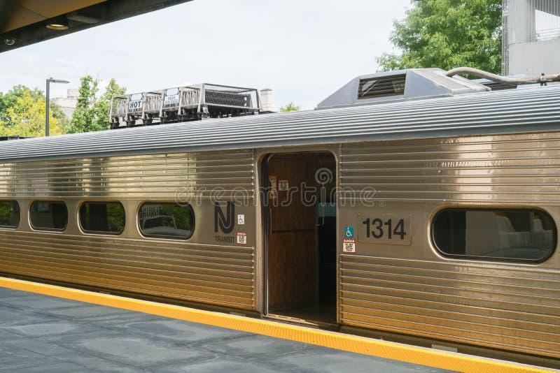 Άποψη του σταθμού τρένου Princeton στοκ εικόνες με δικαίωμα ελεύθερης χρήσης