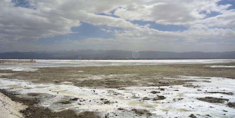 Άποψη του Σόλτ Λέικ Chaka στοκ φωτογραφία με δικαίωμα ελεύθερης χρήσης