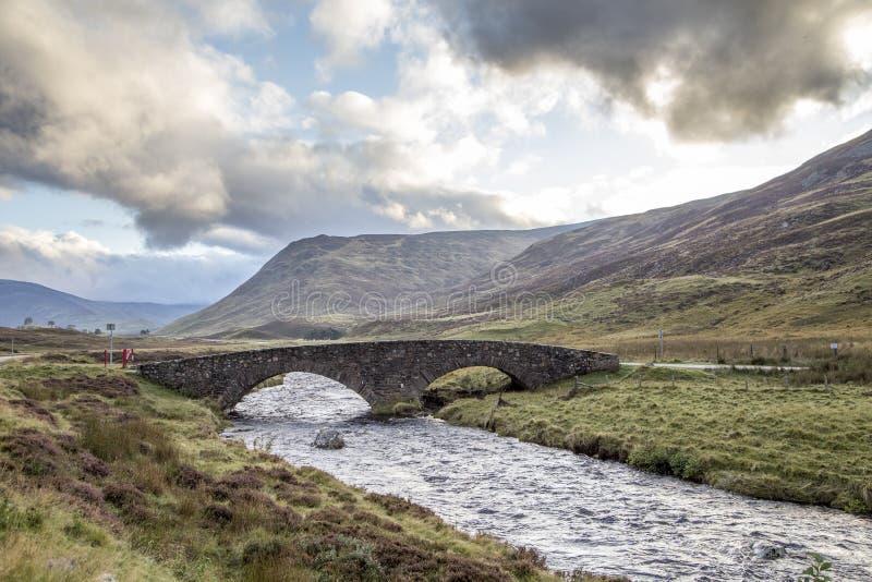 Άποψη του όμορφου τοπίου του εθνικού πάρκου cairngorms στο scotl στοκ φωτογραφία με δικαίωμα ελεύθερης χρήσης
