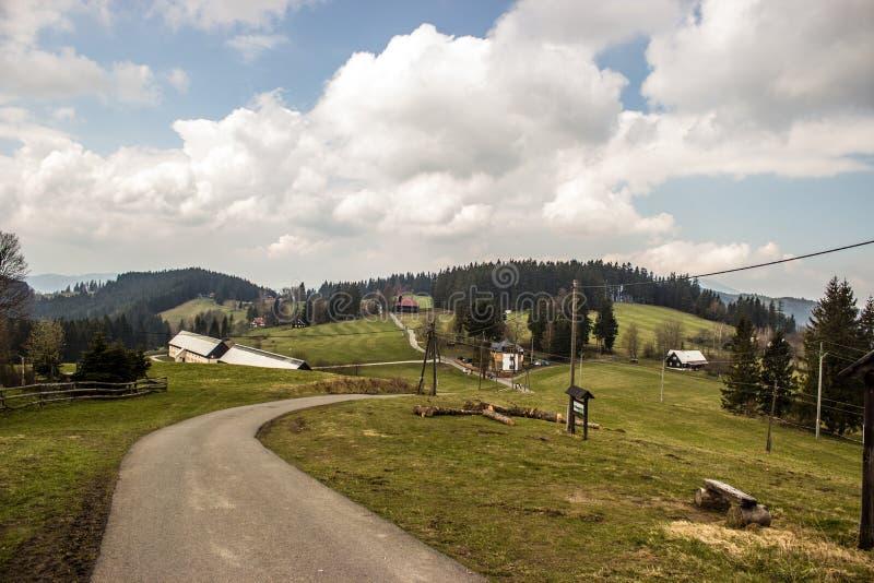 Άποψη του Beskydy στοκ φωτογραφία με δικαίωμα ελεύθερης χρήσης