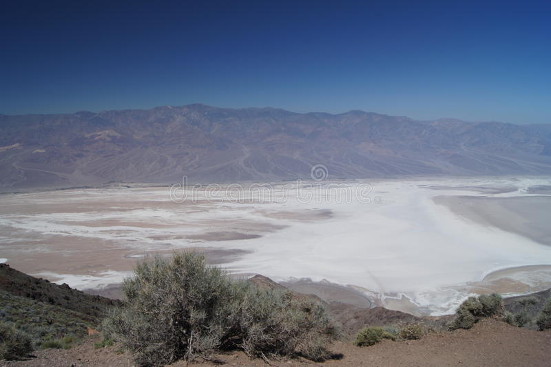 Άποψη του Dante ` s στην κοιλάδα θανάτου στοκ φωτογραφία με δικαίωμα ελεύθερης χρήσης