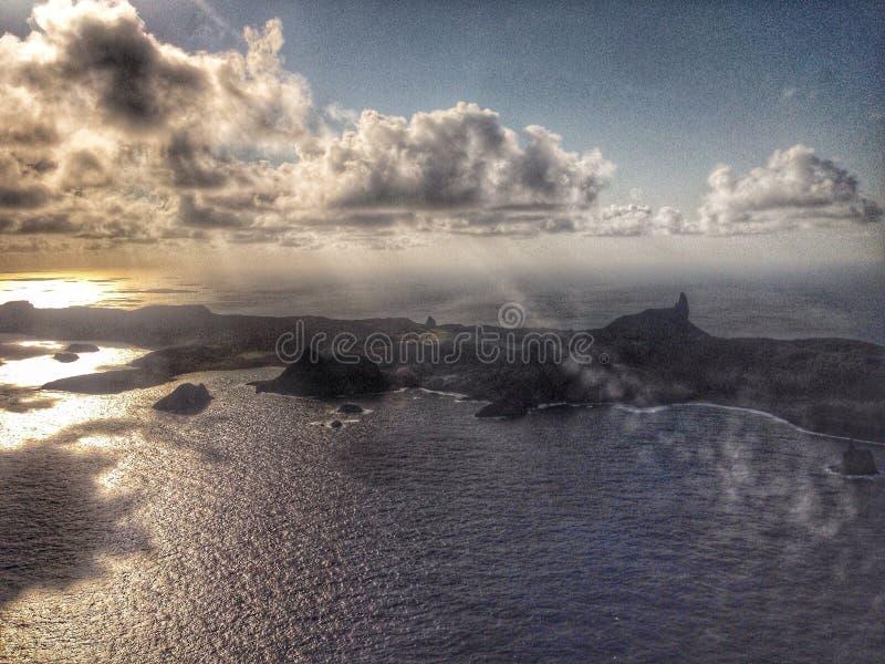 Άποψη του Fernando de Noronha στοκ εικόνα