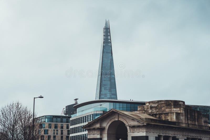 Άποψη του Shard, Λονδίνο, UK στοκ φωτογραφία