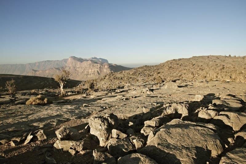 """Άποψη """" το μεγάλο φαράγγι της Μέσης Ανατολής """"  στο Jebel υποκρίνεται mou στοκ εικόνα με δικαίωμα ελεύθερης χρήσης"""