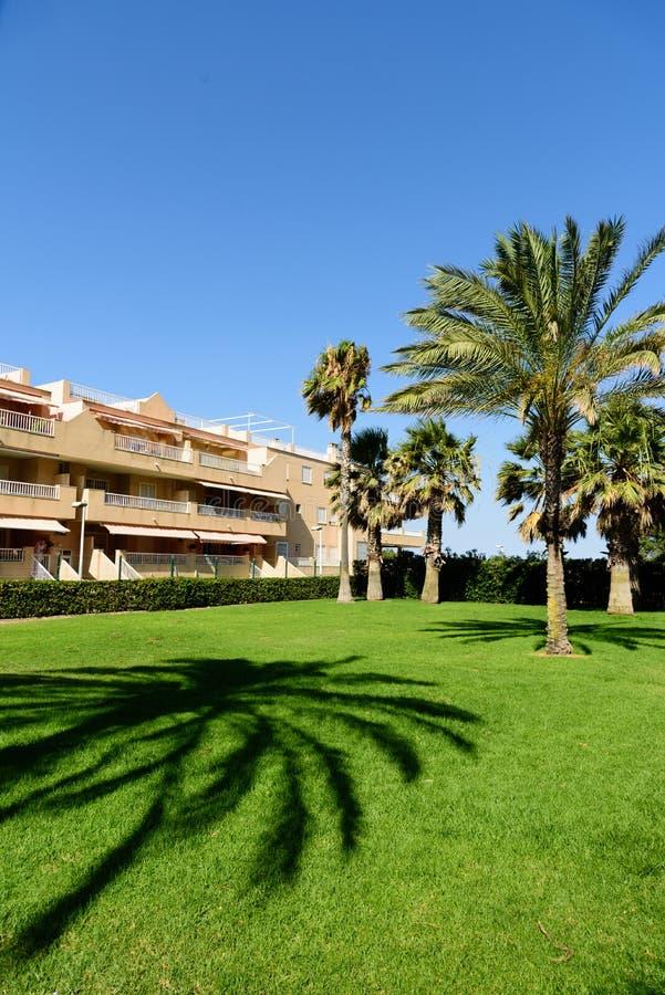 Άποψη των διαμερισμάτων Cullera, Ισπανία στοκ εικόνες με δικαίωμα ελεύθερης χρήσης