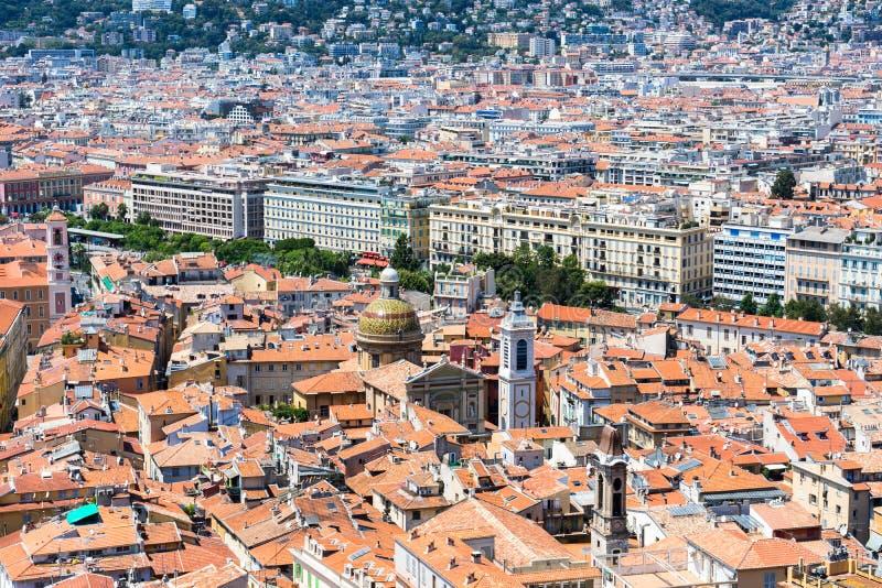 Άποψη των σπιτιών σε έναν συμπαθητικό στοκ φωτογραφία με δικαίωμα ελεύθερης χρήσης
