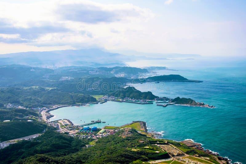 Άποψη των λόφων και της φύσης στην επαρχία της Ταϊβάν στοκ φωτογραφία με δικαίωμα ελεύθερης χρήσης