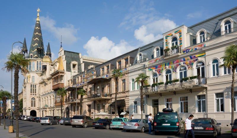 Άποψη Batumi, Γεωργία Το Batumi είναι η πρωτεύουσα της αυτόνομης Δημοκρατίας Adjara Το Repub στοκ εικόνες