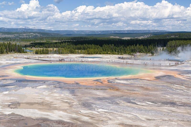 Άποψη Caldera Yellowstone στοκ εικόνες με δικαίωμα ελεύθερης χρήσης