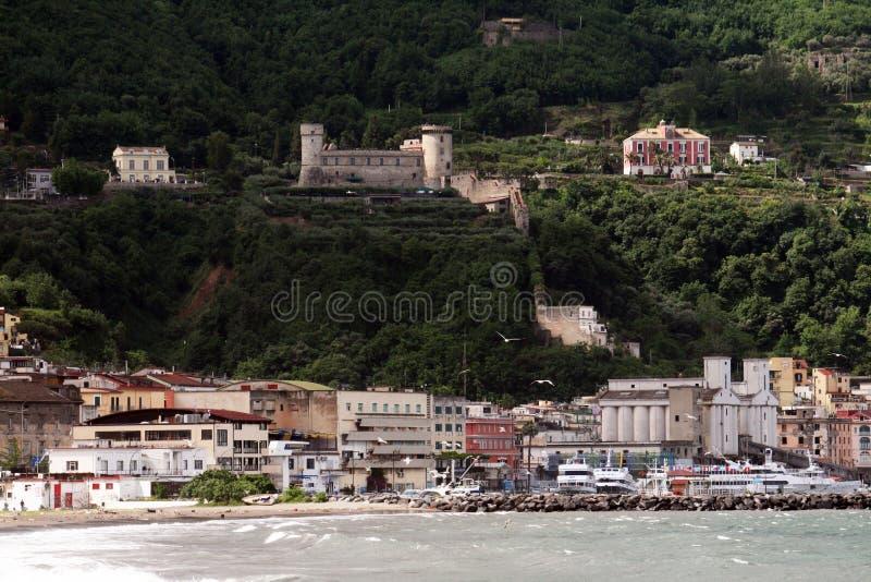 Άποψη Castellammare στοκ εικόνες