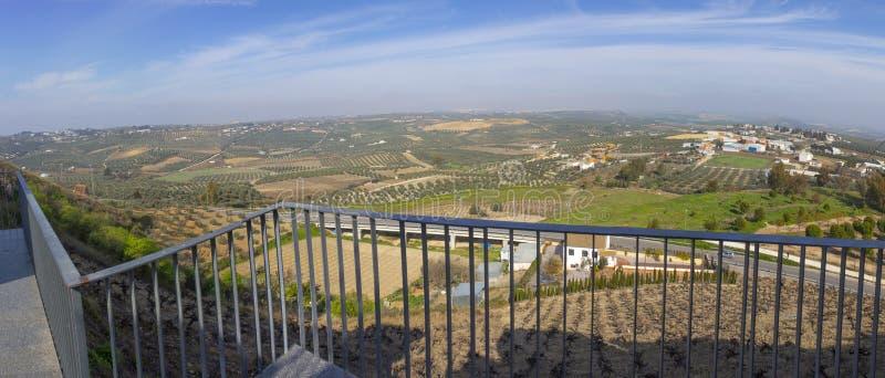 Άποψη Escuchuela, Montilla, Ισπανία στοκ φωτογραφίες με δικαίωμα ελεύθερης χρήσης