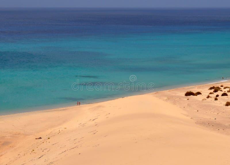 Άποψη Fuerteventura siland στοκ φωτογραφία με δικαίωμα ελεύθερης χρήσης
