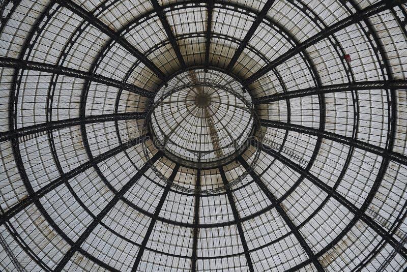 Άποψη Galleria Vittorio Emanuele ΙΙ στοκ φωτογραφία