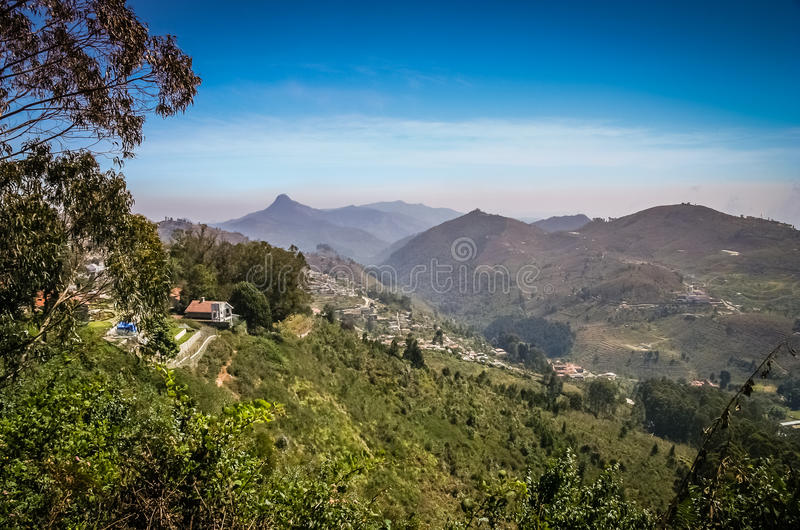 Άποψη Kodaikanal στοκ εικόνες