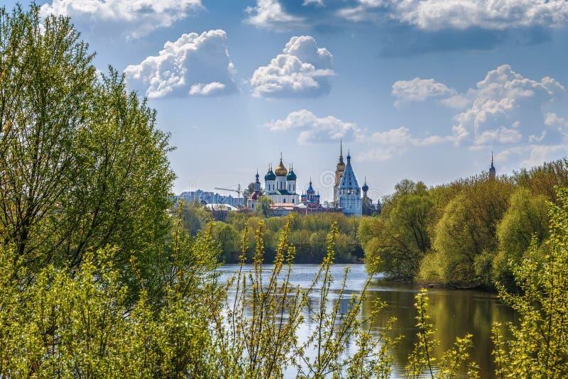 Άποψη Kolomna, Ρωσία στοκ φωτογραφία με δικαίωμα ελεύθερης χρήσης