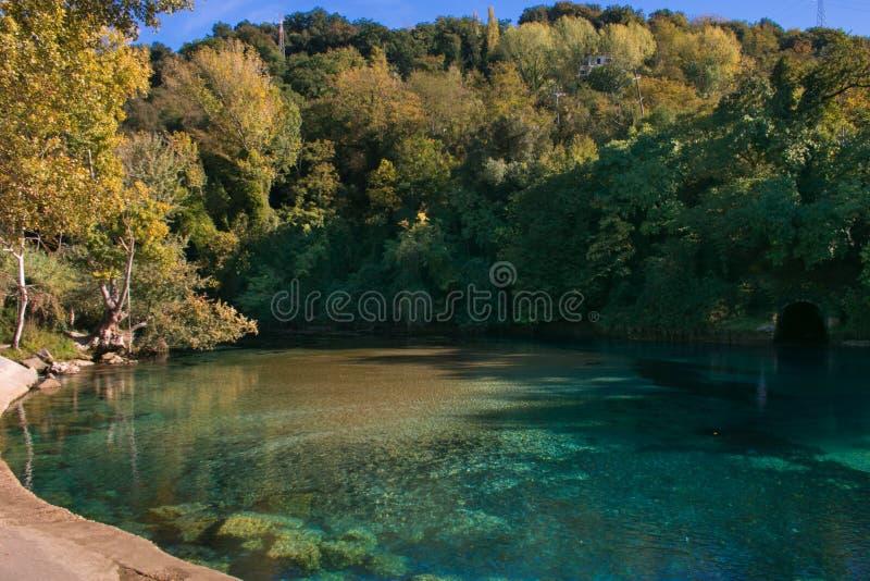 Άποψη LE Mole Di Narni στην Ουμβρία στοκ φωτογραφίες