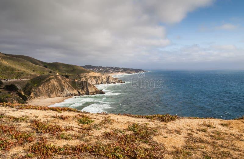 Άποψη Pacifica από το ίχνος φωτογραφικών διαφανειών διαβόλων στοκ φωτογραφία με δικαίωμα ελεύθερης χρήσης