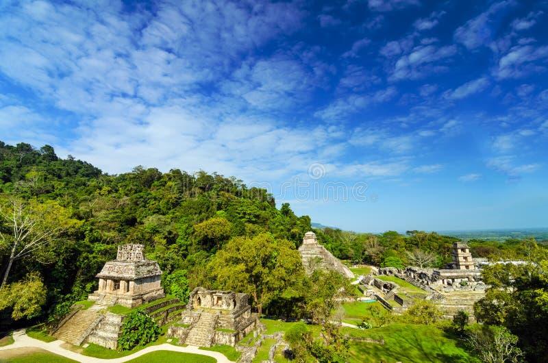 Άποψη Palenque στοκ εικόνες