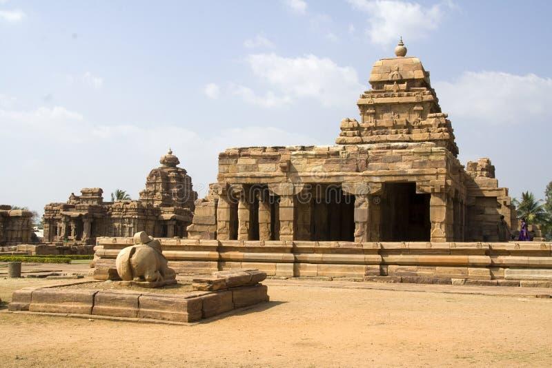 Ναός Sangameswara, Pattadakal στοκ φωτογραφίες με δικαίωμα ελεύθερης χρήσης