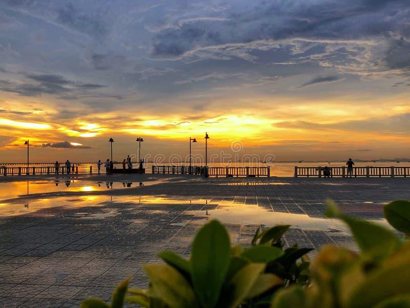 Άποψη Sunsets στοκ φωτογραφίες
