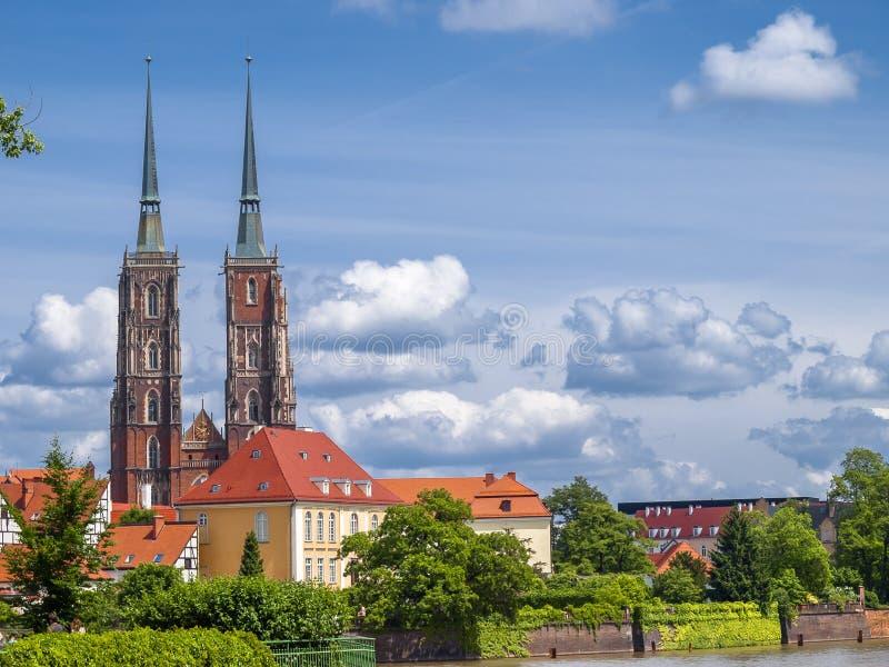 Άποψη Wroclaw στοκ φωτογραφία
