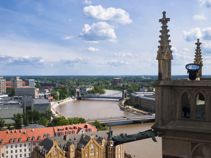 Άποψη Wroclaw στοκ φωτογραφίες