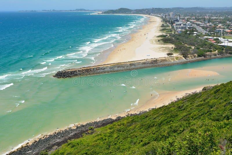 Άποψη Xterior της εισόδου στο θεματικό πάρκο Dreamworld στην Αυστραλία στοκ εικόνες με δικαίωμα ελεύθερης χρήσης