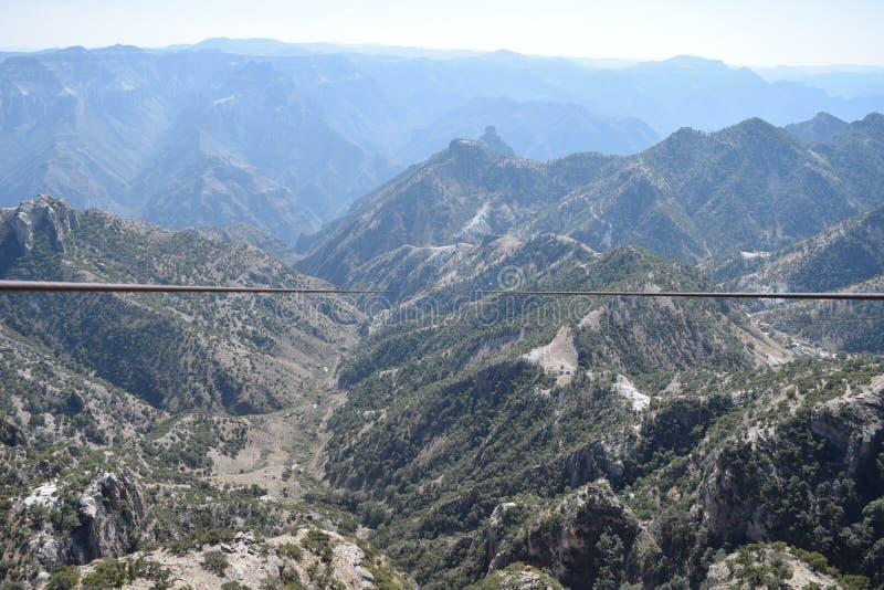 Άποψη Zipline στοκ φωτογραφία με δικαίωμα ελεύθερης χρήσης