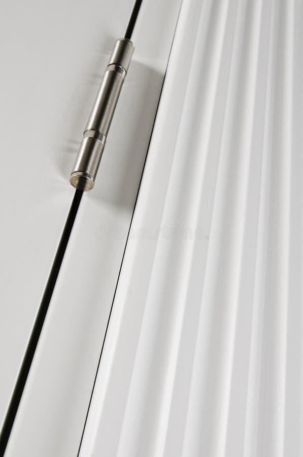 Άρθρωση της ξύλινης πόρτας στοκ φωτογραφία