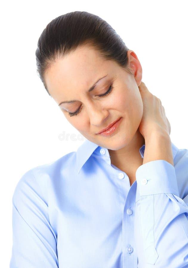 άρρωστη γυναίκα στοκ εικόνα