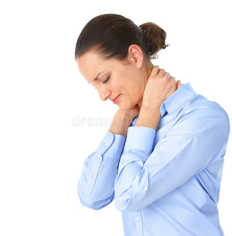 άρρωστη γυναίκα στοκ εικόνες