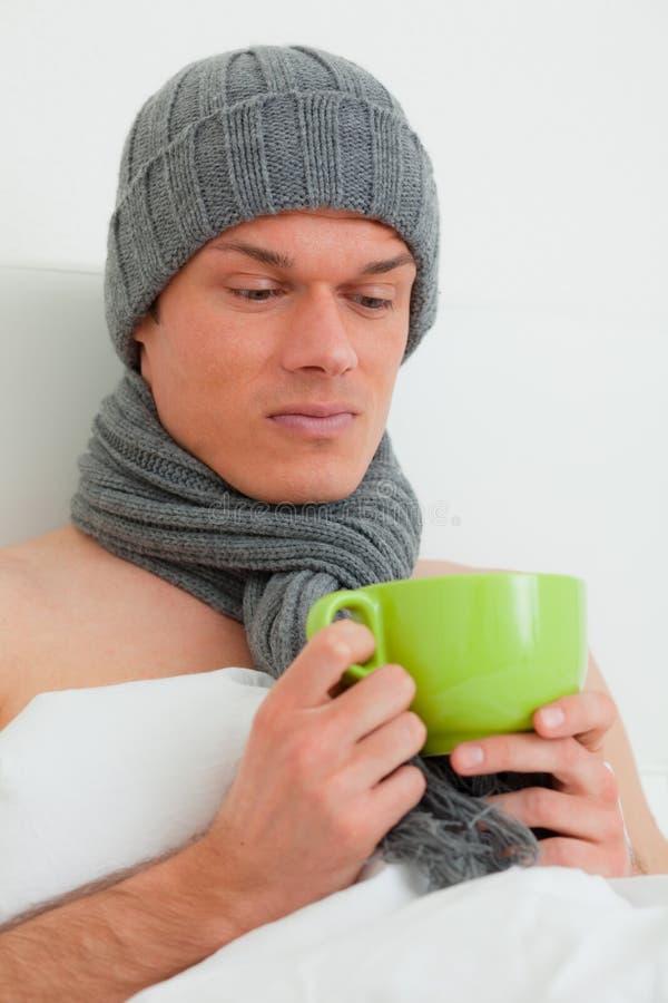 Download άρρωστος άνδρας σπορείων στοκ εικόνες. εικόνα από βλαμμένος - 13176758