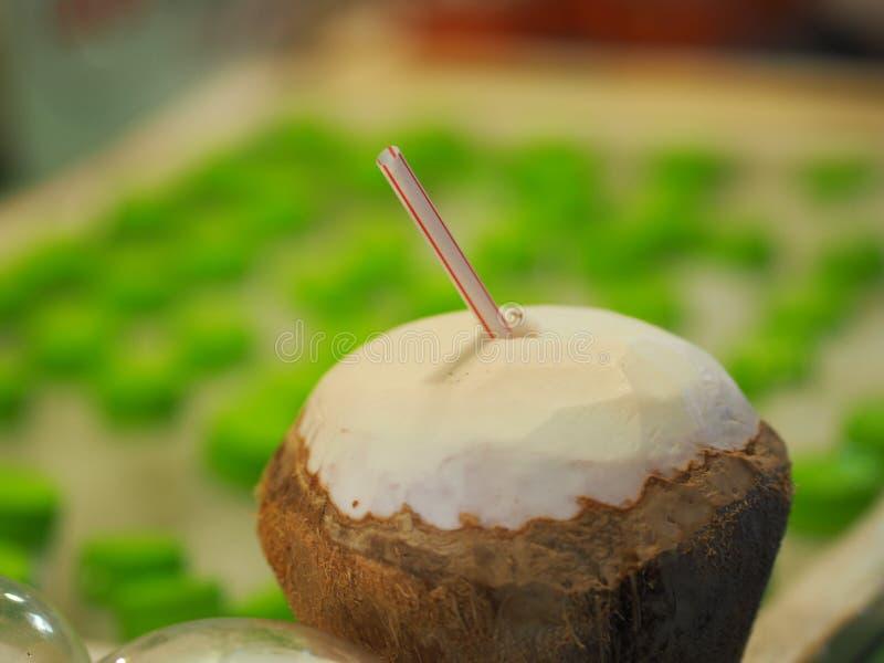 Άρωμα καρύδων έτοιμο να φάει στοκ φωτογραφία