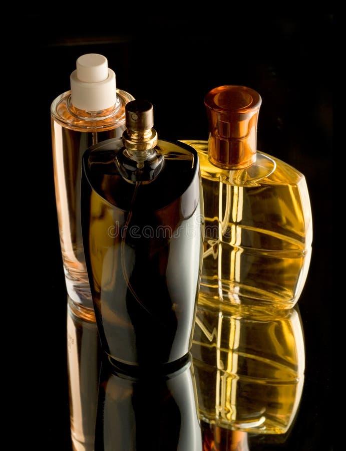 άρωμα μπουκαλιών στοκ φωτογραφία
