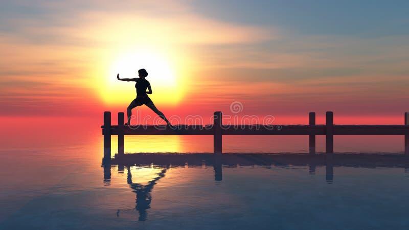 άσκηση γυναικών έννοιας υγείας στοκ εικόνες