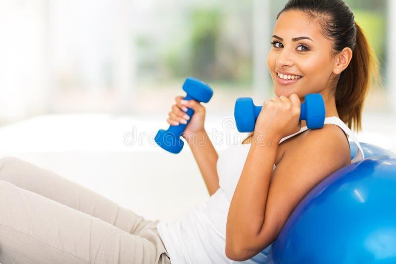 Άσκηση ικανότητας γυναικών στοκ εικόνα