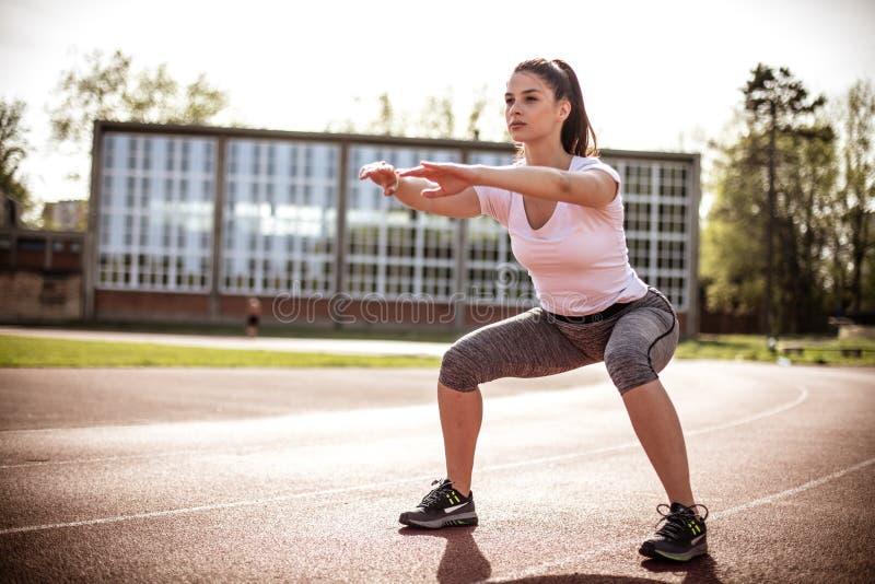 Άσκηση λειών 15 woman young στοκ εικόνες με δικαίωμα ελεύθερης χρήσης