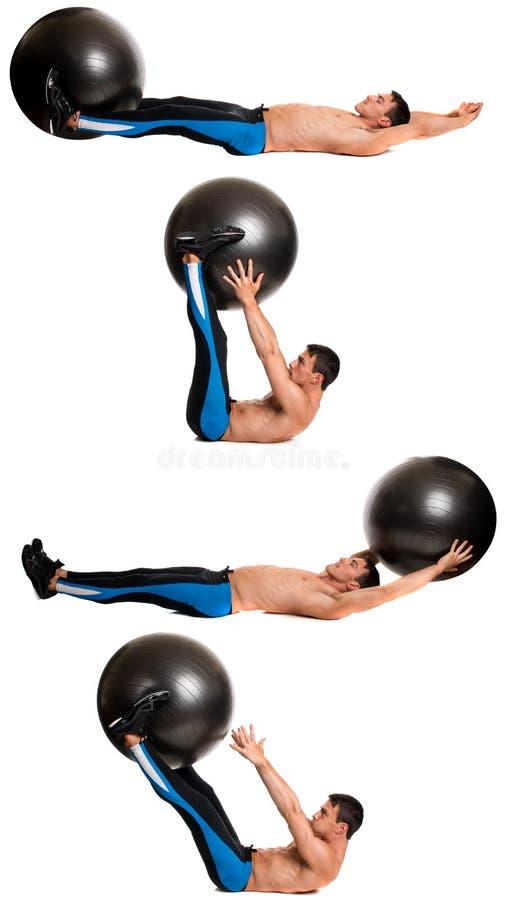 Άσκηση σφαιρών σταθερότητας στοκ εικόνα με δικαίωμα ελεύθερης χρήσης