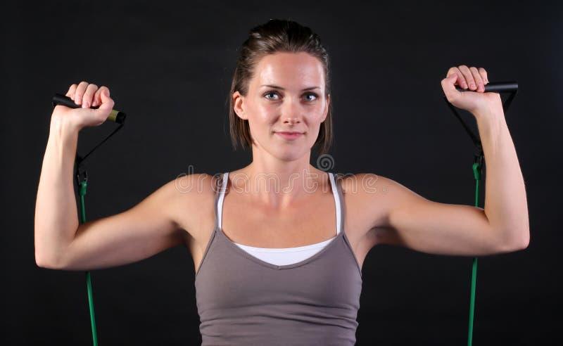 Άσκηση ώμων στοκ φωτογραφία με δικαίωμα ελεύθερης χρήσης