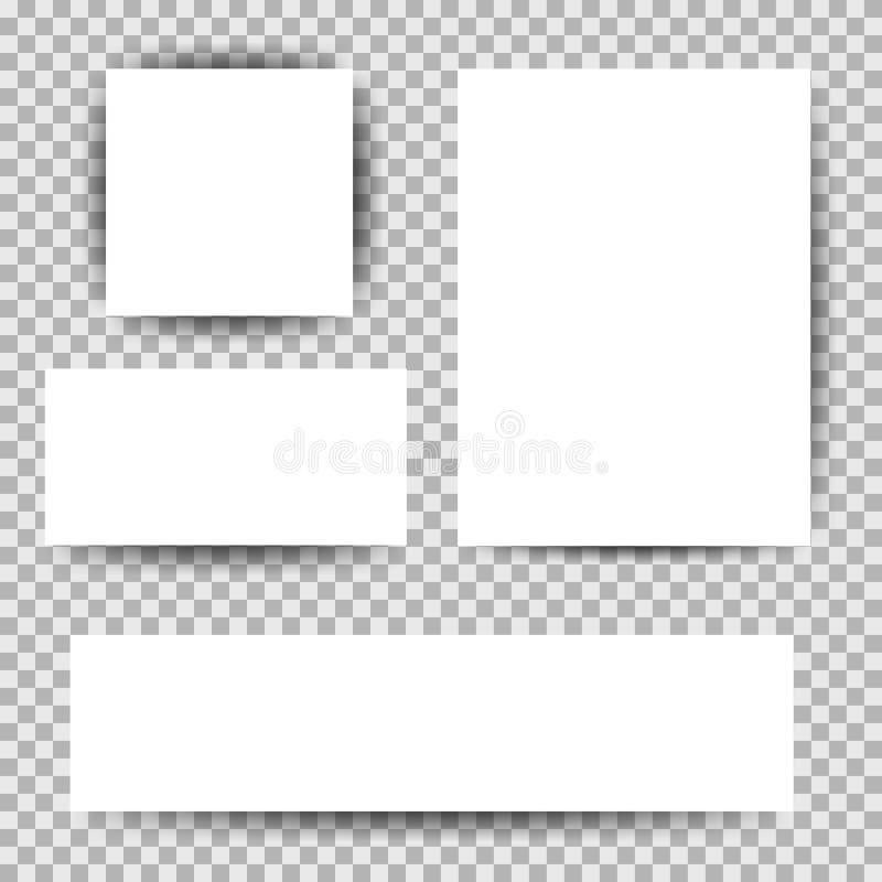 Άσπρα εταιρικά επιχειρησιακά καθορισμένα χαρτικά σχεδίου προτύπων ταυτότητας, φυλλάδιο, κάρτα, κατάλογος διανυσματική απεικόνιση