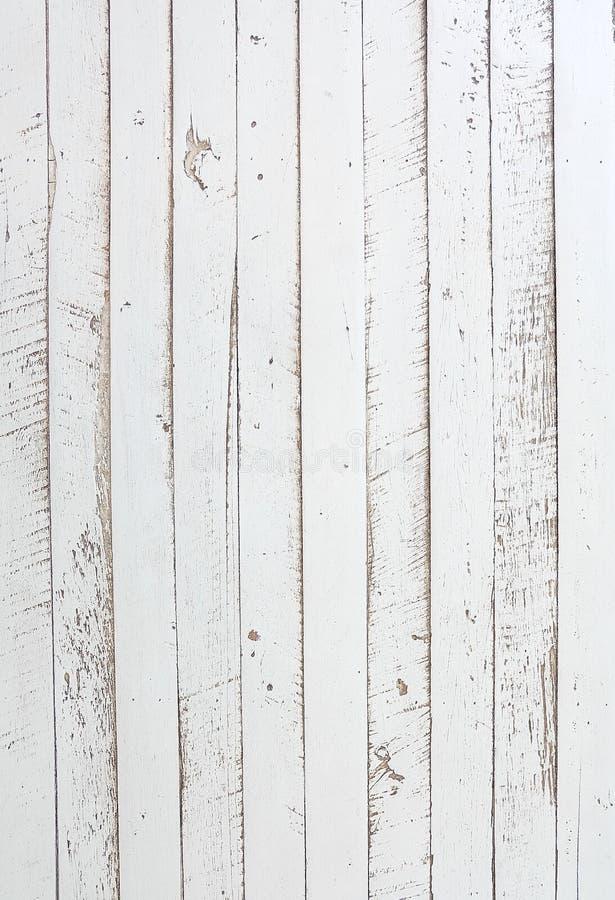 Άσπρα ξύλινα υπόβαθρα σύστασης στοκ φωτογραφία