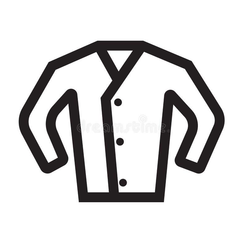 Άσπρα σημάδι και σύμβολο εικονιδίων μπλουζών διανυσματικά που απομονώνονται στην άσπρη πλάτη απεικόνιση αποθεμάτων