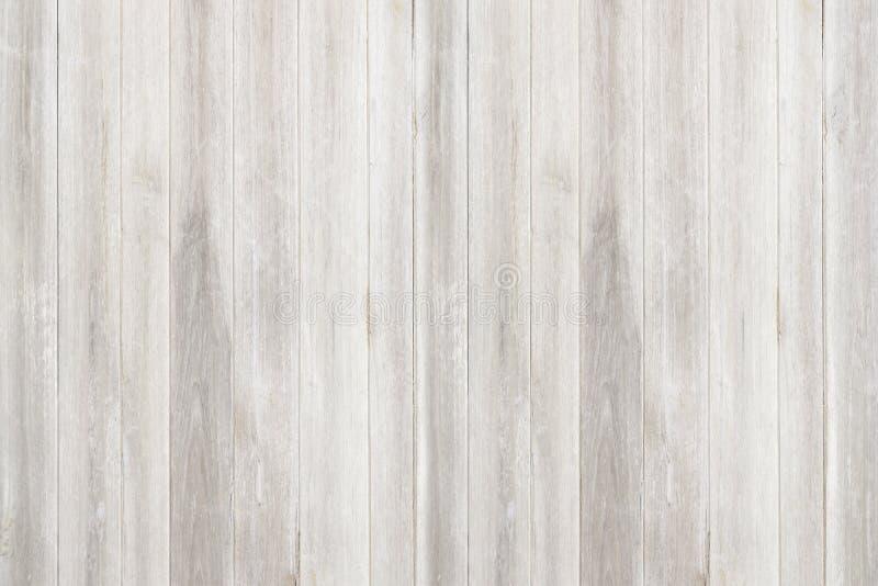 Άσπρα φυσικά ξύλινα σύσταση και υπόβαθρο τοίχων άνευ ραφής στοκ εικόνα